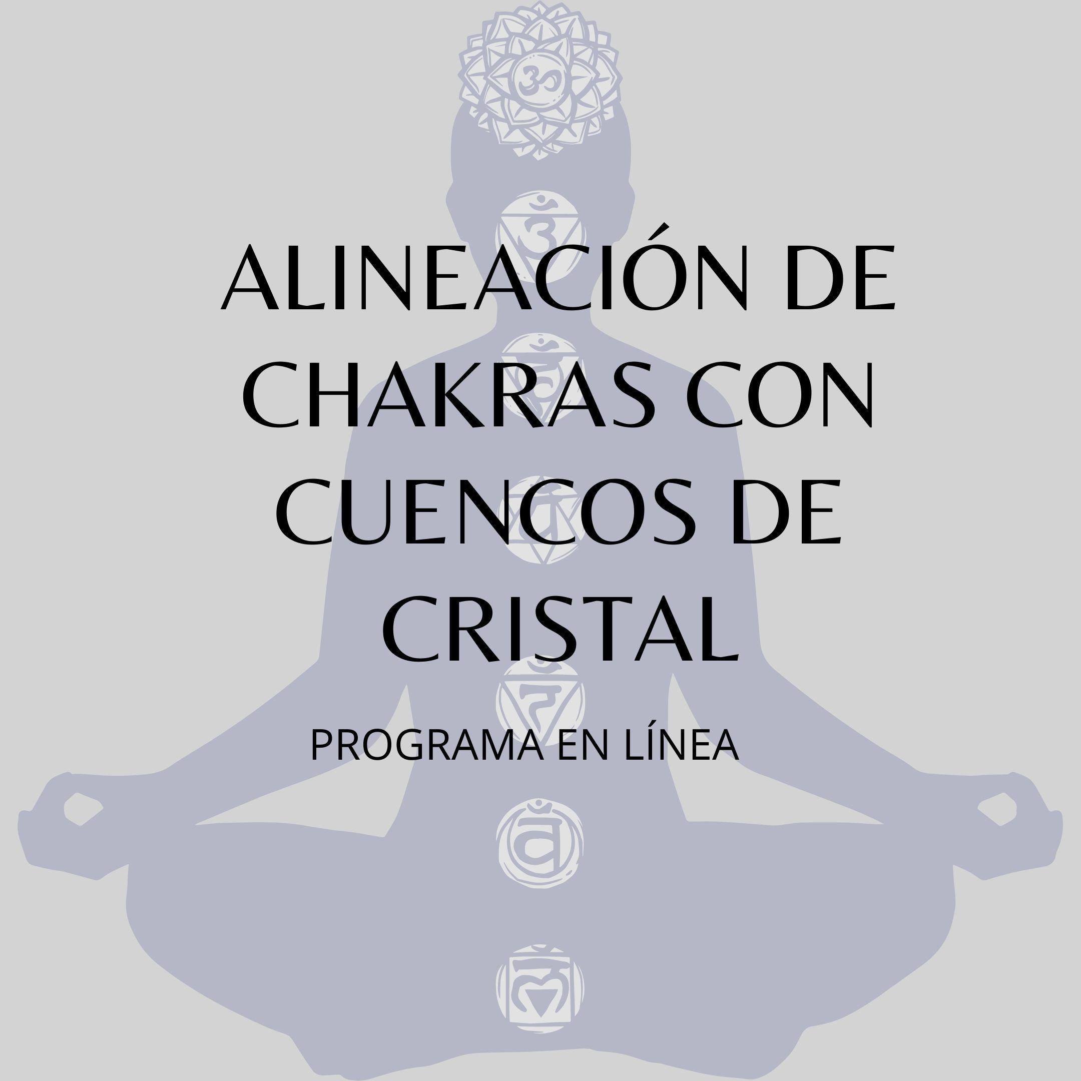 ALINEACIÓN DE CHAKRAS. Meditación guiada con sonido de cuencos de cuarzo